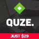 QUZE - Startup and Technology WordPress Theme