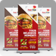 Fast Food Roll-up Banner - GraphicRiver Item for Sale