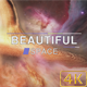 Beautiful Distant Abstract Space Background - VideoHive Item for Sale