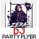DJ Party Flyer