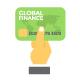 200 Flat Finance Icons
