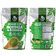 Moringa Powder Bag Packaging Template