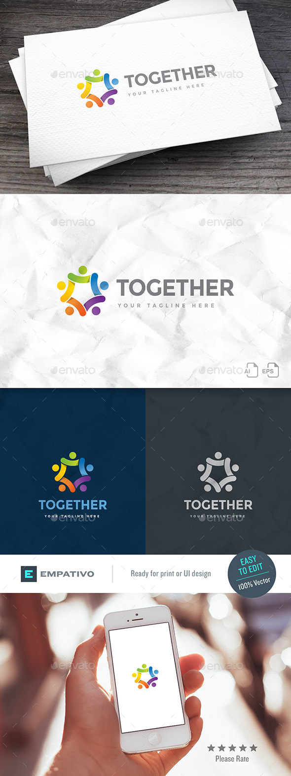 Betogether Logo Template - Humans Logo Templates