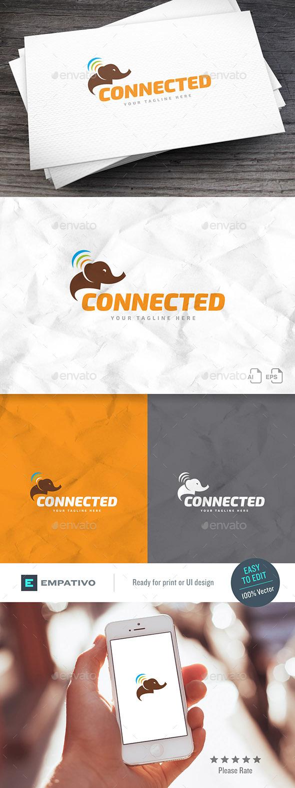 Connected Logo Template - Animals Logo Templates