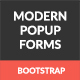 Modern Popup - Bootstrap Forms - CodeCanyon Item for Sale