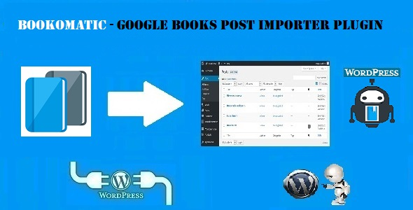 Bookomatic - Google Books Automatic Post Generator Plugin for WordPress