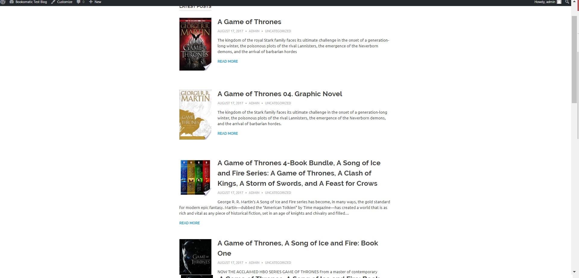 Bookomatic - Google Books Automatic Post Generator Plugin for WordPress