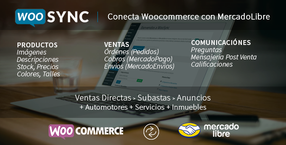 Conecta Woocommerce con MercadoLibre - CodeCanyon Item for Sale