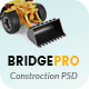 BridgePro | Construction & Building PSD Template - ThemeForest Item for Sale