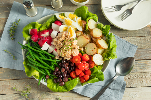 Homemade French Salad Nicoise