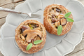 Bread Buns With Mushrooms And Sage - PhotoDune Item for Sale