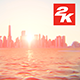 3D New York Manhattan Sunset 6