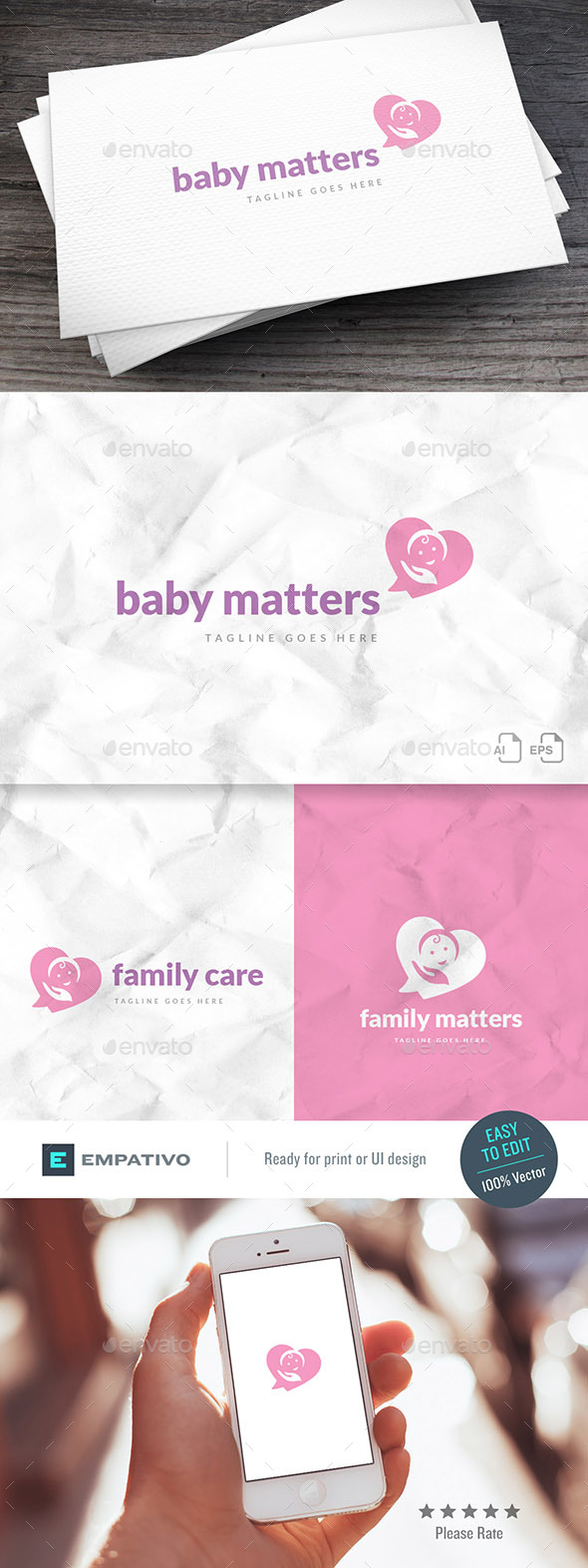 Family Matters Logo Template - Humans Logo Templates