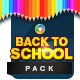 Back to School Facebook Cover and Instagram Designs