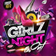 Girlz night out flyer - GraphicRiver Item for Sale