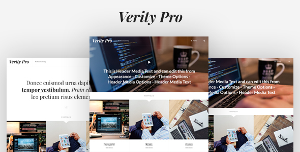Verity Pro: Portfolio and Blog WordPress Theme - Portfolio Creative