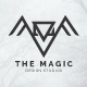 The Magic Logo - Owl Bird Creative Studio Logo Template - GraphicRiver Item for Sale