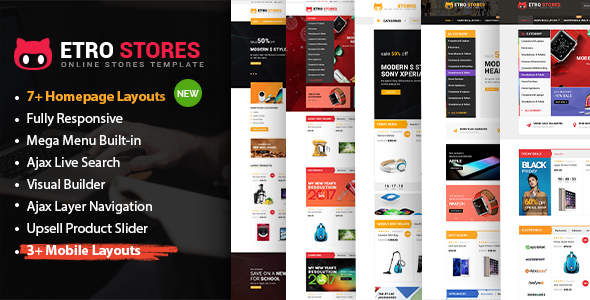 Etro Store - Multipurpose Responsive WooCommerce WordPress Theme (Mobile Layouts Included)