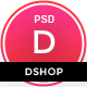 dShop - MultiPurpose eCommerce PSD Template