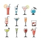 Set of Cocktails. - GraphicRiver Item for Sale