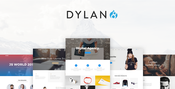 Image of Dylan - Responsive Multi-Purpose Drupal 8.4 Theme