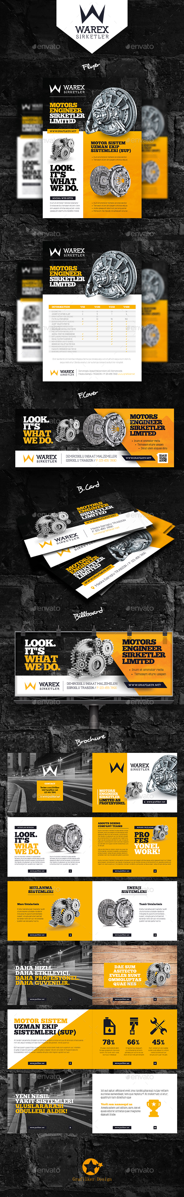GraphicRiver Technical Data Bundle Templates 20501715