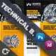 Technical Data Bundle Templates - GraphicRiver Item for Sale