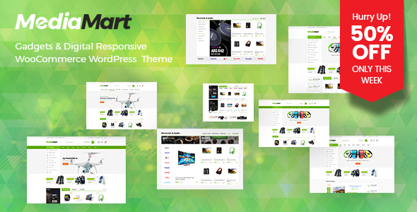MediaMart - Gadgets & Digital Responsive WooCommerce WordPress Theme