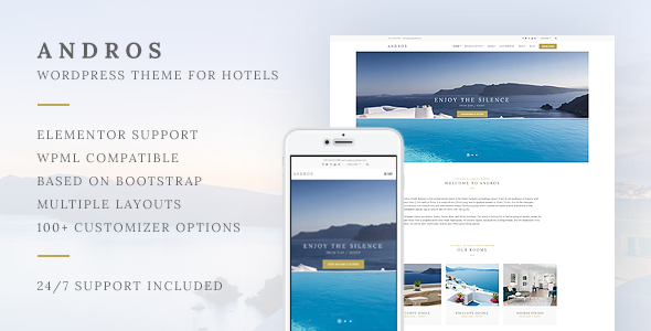 Andros - Hotel Theme For WordPress by cssignitervip [20501855]