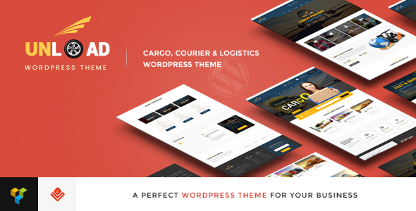 Unload - Cargo, Shipping, Logistics, Trucking, Warehouse & Transport WordPress Theme - Business Corporate