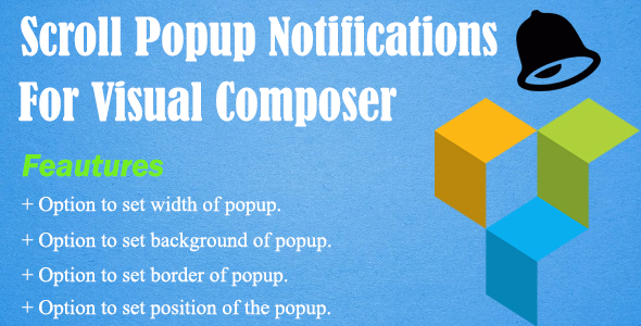 CodeCanyon Scroll Popup Notifications For Visual Composer 20502166