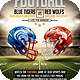 American College Football Flyer Template - GraphicRiver Item for Sale