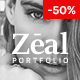Zeal - Responsive and Creative Portfolio & Blogging WordPress Theme - ThemeForest Item for Sale