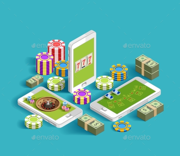 GraphicRiver Casino Electronic Gambling Composition 20502355