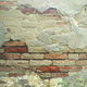 Weathered Old Ruined Brick Wall Background - PhotoDune Item for Sale