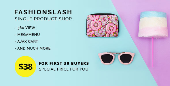 ThemeForest Fashionlash Responsive Opencart Theme for Single Product Store 20390177