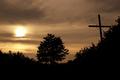 Wayside cross in the dusk - PhotoDune Item for Sale
