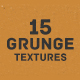 15 Grunge Textures - GraphicRiver Item for Sale