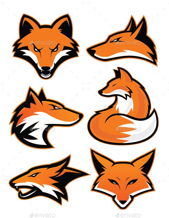 GraphicRiver Fox Mascot 20502513