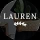Lauren - Clean & Minimal WordPress Blog Theme