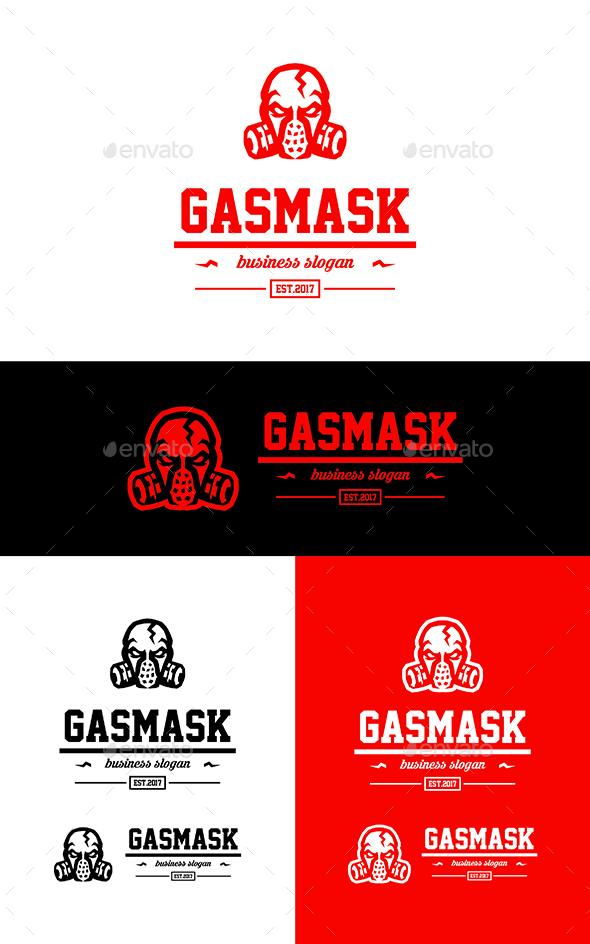 GraphicRiver Gas Mask 20502825