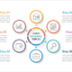 Circle Infographic Template with Six Elements - GraphicRiver Item for Sale