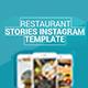 Restaurant Stories Instagram