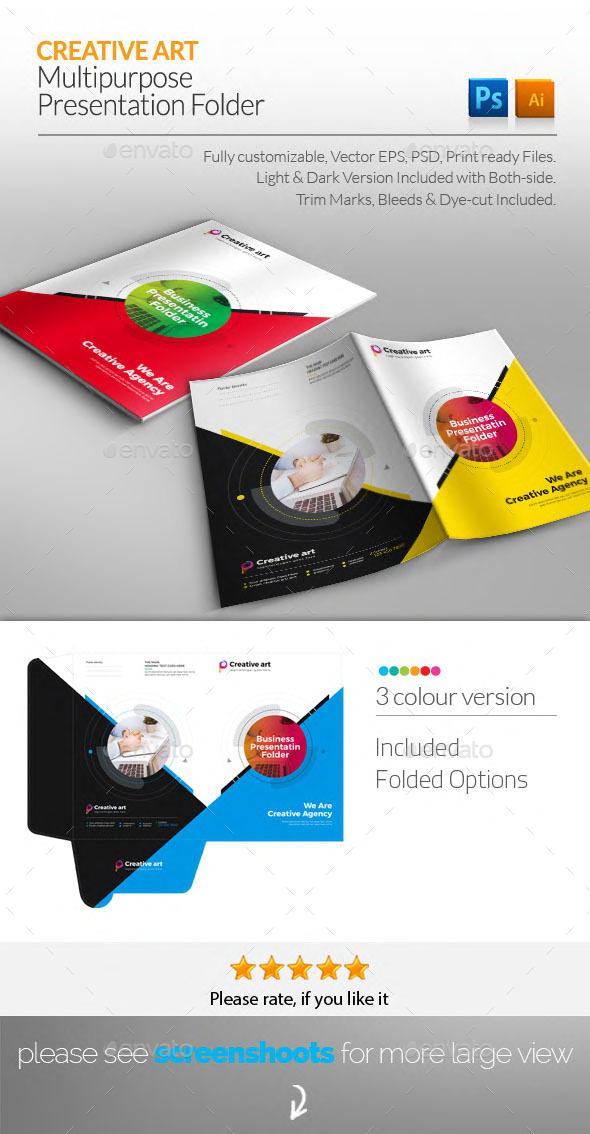 GraphicRiver Presentation Folder 20503220