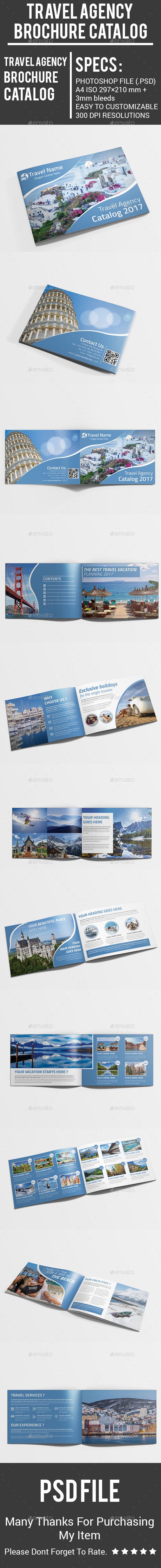 Travel Agency Brochure Catalog - Catalogs Brochures