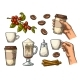 Set of Coffee - GraphicRiver Item for Sale