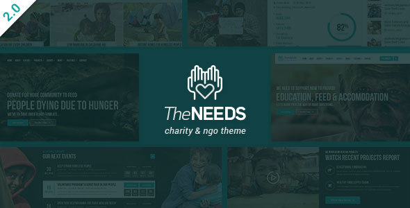 Image of The Needs - Nonprofit, Charity, Crowdfunding WordPress Theme