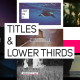 Titles & Lower Thirds - VideoHive Item for Sale