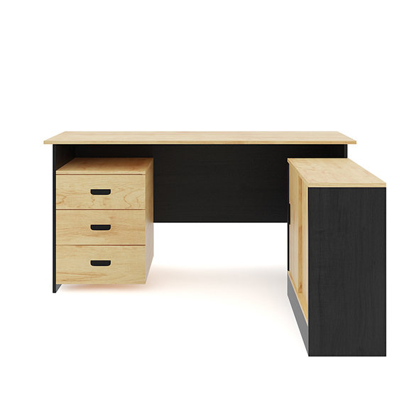 Desk with Office Cabinet - 3DOcean Item for Sale