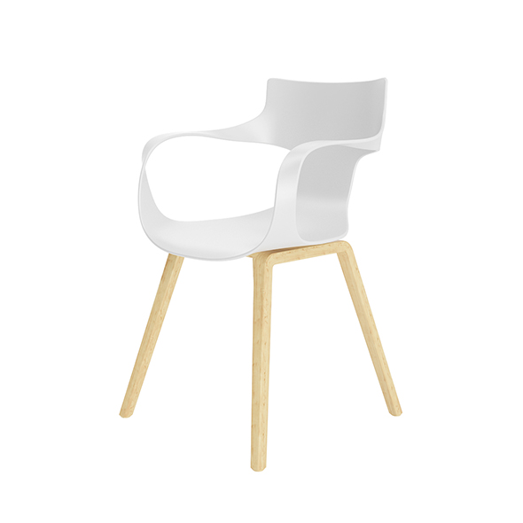 Office White Chair - 3DOcean Item for Sale